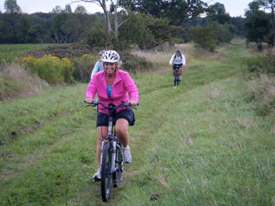Denise on Bronte Park Trail