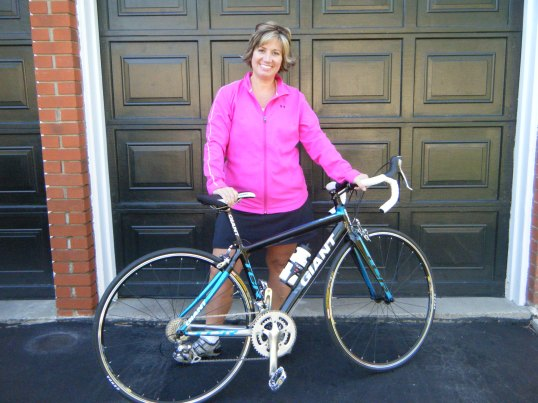 Denise's new wheels