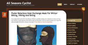All Seasons Cyclist Blog